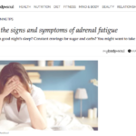These are the signs and symptoms of adrenal fatigue