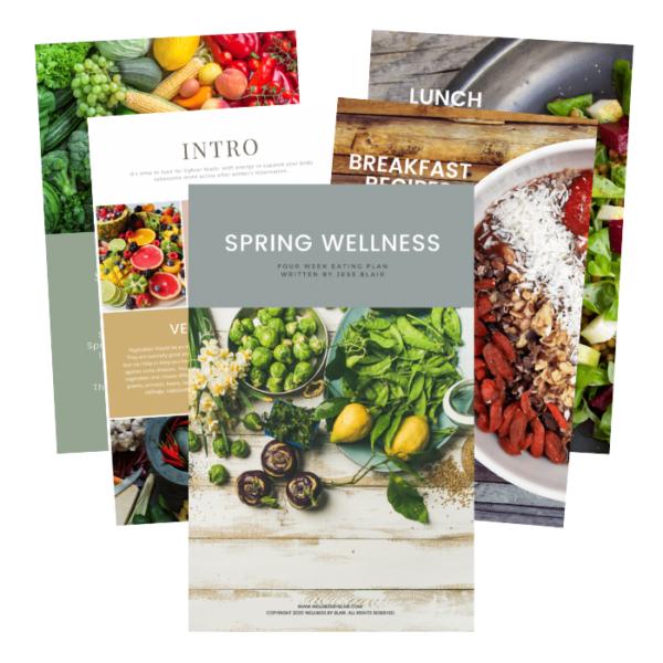 Spring Wellness - 4 Week Eating Plan 1