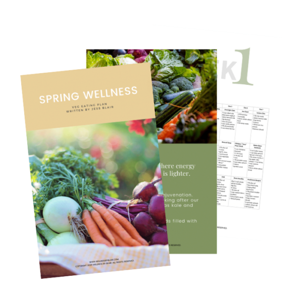Spring Wellness - Veg Eating Plan 1